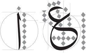 arabic calligraphy taking a closer