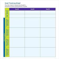 Free Printable Goal Setting Worksheet Habit Tracker Template