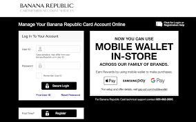 banana republic credit cards rewards