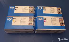 <b>Печатающая головка HP</b> 90 (<b>C5055A</b>) Cyan купить в Москве на ...
