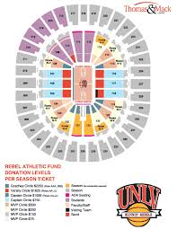 Thomas Mack Arena Seating Chart Nfr Thomas And Mack Nfr Seating 2019