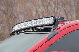 52 in curved cree led light bar x5 series 76254 rough 52 inch curved cree led light bar dual row x5 series
