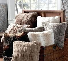 lynx faux fur fullqueen duvet cover set faux fur duvet cover queen