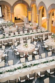 chic white and greenery wedding reception table layout ideas elegant round and rectangle