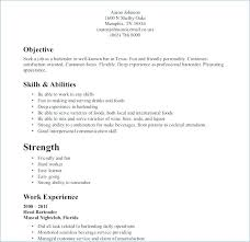 Waitress Resume Cool Restaurant Server Resume Sample From Restaurant Waiter Resume