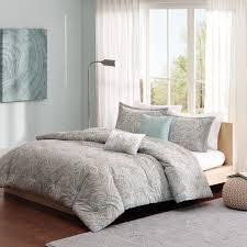 com madison park pure mpp12 019 5 piece ronan cotton duvet cover set home kitchen