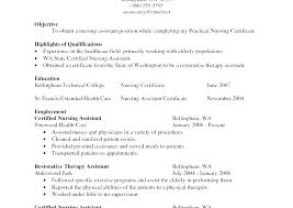Cna Resume Sample With Experience New Resume Sample Resume Sample ...