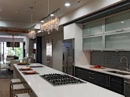 dazzling modern bar dazzling modern kitchen with long island and crystal track lights hgtv