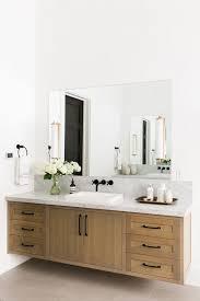 white bathroom vanities ideas. Impressive Floating Bathroom Vanity Ideas Wooden Cabinetry Mirror And White Vanities