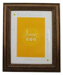 81 2 x 11 bronze picture frame