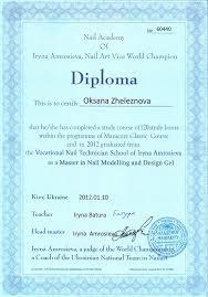 Академия Красоты Николь Салоны красоты парикмахерские Адрес  Международный диплом от Академии Ирины Амросиевой