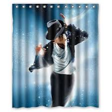 Michael Jackson shower curtain gifts for home decor lovers 17 curtains you should check