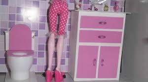 make barbie doll furniture. Barbie Glam Bathroom Furniture And Doll Set ~ Bathtub Sink Toilet Outfit Outfits Make