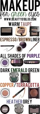 do you have green eyes this post is for you check out all the