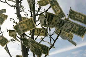 Image result for Money growing on trees picture