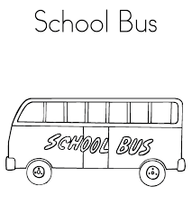 Small Picture Printable School Bus Coloring Page Transportation Coloring pages