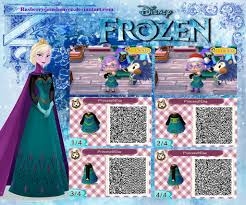 とびだせどうぶつの森 Qrコードアナと雪の女王アナとエルサの服