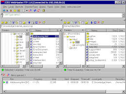webmaster ftp software utility for webmasters screenshot