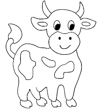 By best coloring pagesaugust 12th 2013. Cow Coloring Pages For Kids Could Be More Wonderful After Kids Give It Cow Coloring Pages Farm Animal Coloring Pages Animal Coloring Books