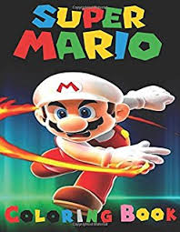 super mario coloring book this a4 45 page coloring book for kid s has fantastic images