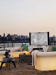 design within reach outdoor furniture. View In Gallery All You Need Is A Small Outdoor Nook For Charming Home Theater Under The Sky Design Within Reach Furniture