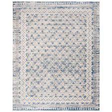 bwood light gray blue 9 ft x 12 ft area rug bwood light