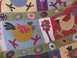 Quilting Blog - Cactus Needle Quilts, Fabric and More: Spring Chickens & A great way to use up scraps. Adamdwight.com
