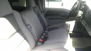 ford f 350 gray leather auto interior kit