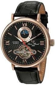 mens lucien piccard 3 eye chrono new date watch 28118bk >>> you lucien piccard watches babylon automatic leather band watch >>>