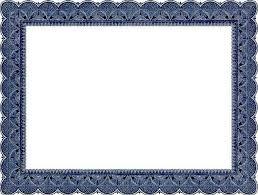 Certificate Frame Template Word Award Certificate Border Clipart 55 ...