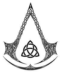 assassinand 39 s creed unity logo. here\u0027s the black and white version of celtic assassin logo i did for people to have fun with fandomize whatnot since don\u0027t actually own th. assassinand 39 s creed unity