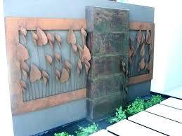 modern outdoor wall art copper outdoor wall art sculptures steel 3 dimensions metal decor and leaves modern outdoor wall art