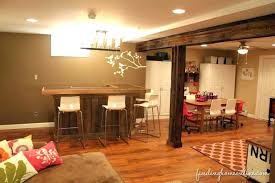 Rustic Basement Ideas Photos Decorating Family Room