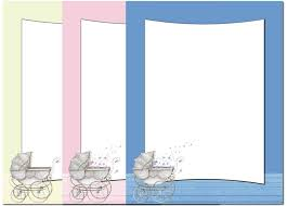 Letterhead Stationary Baby Carriage Letterhead