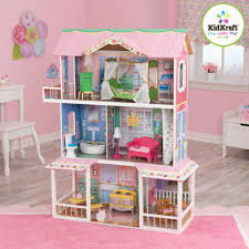 wooden barbie doll furniture. KidKraft Sweet Savannah Wooden Dollhouse With 13 Pieces Of Furniture - Walmart.com Barbie Doll