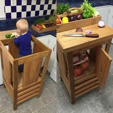 Kids Kitchen Furniture Involve Kids Kitchen Helper In The Kitchen Kids Furniture
