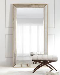 Image Crate Hch8b2rmujpg Horchow Aldina Goldenbeaded Floor Mirror