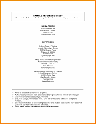 Chic Resume References Example Format In Resume Reference Example ...