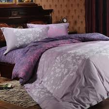 image of charming solid purple comforter
