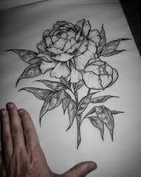 новости цветы эскиз тату искусство и татуировки