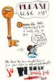 Lock The Door Sign Please Lock The Door Sign I Nongzico