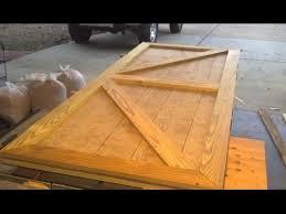brian built barn doors. Custom Shed Door Designed And Built In One Short Video. Brian Barn Doors