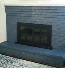 how to paint fireplaces matte vs satin paint on brick paint stone fireplace black