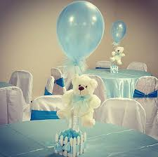boy baby shower table centerpieces