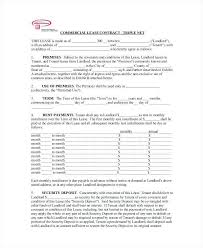 Sample Commercial Lease Agreement | Getcontagio.us