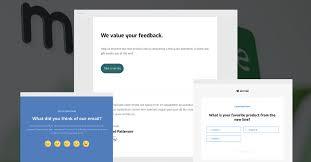 Survey Questions For Website Design New Embedded Surveys Create And Send Surveys In Mailerlite
