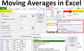Excel Average Chart Moving Averages In Excel Examples How To Calculate