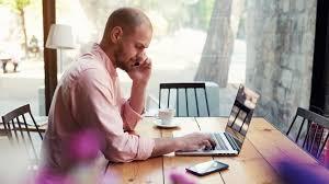 20151015142223 Working Man Phone Call Computer Internet Laptop
