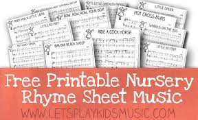 sheet music for kids free resources free sheet music and theory printables lets play