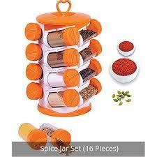Kitchen Spice Jar 16 Pieces Set Supplier Distributor In India